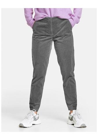 GERRY WEBER 7/8 - Hose »Hose mit Glanzsaum SlimFit« kaufen