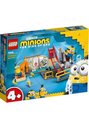 LEGO® Konstruktionsspielsteine »Minions in Grus Labor (75546), LEGO® Minions«, (87... kaufen