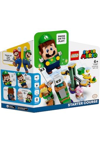 LEGO® Konstruktionsspielsteine »Abenteuer mit Luigi – Starterset (71387), LEGO® Super... kaufen