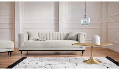 Guido Maria Kretschmer Home&Living 3-Sitzer »Chamby New«, im Bouclé-Strukturbezug mit... kaufen