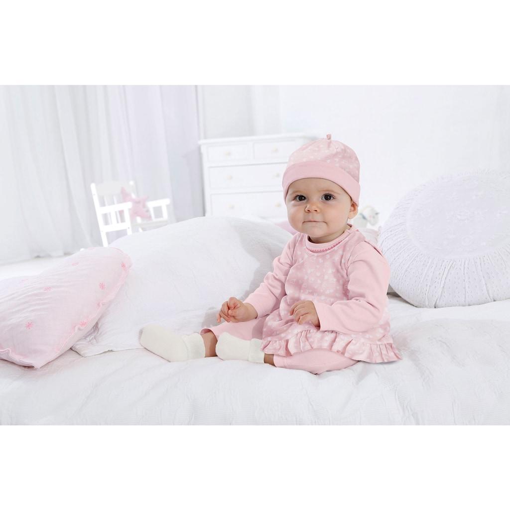 Klitzeklein Neugeborenen-Geschenkset »Sporty Sparkle«, aus Bio-Baumwolle