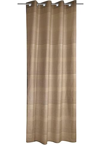 Vorhang, »Streifen«, , Ösen 1 Stück kaufen