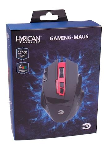 Hyrican Gaming-Maus »ST-GM082 Gaming Maus«, kabelgebunden, 0.001 MHz kaufen