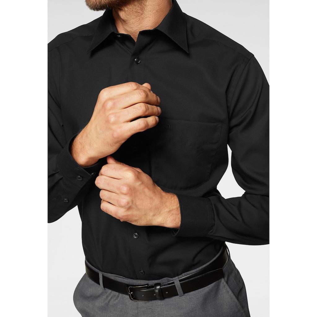 OLYMP Businesshemd »Luxor comfort fit«, Mit Brusttasche, bügelfrei