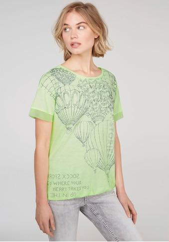 SOCCX T-Shirt, mit Mesh-Kante am Ärmel und Gummizug im Saum kaufen