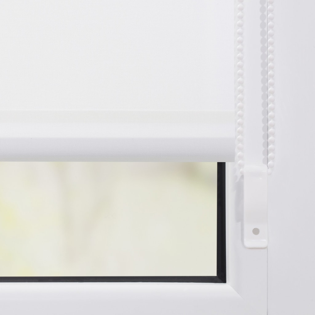 LICHTBLICK Seitenzugrollo »Klemmfix Motiv Rentier Weihnachten«, Lichtschutz, ohne Bohren, freihängend, bedruckt
