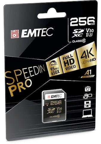 EMTEC Speicherkarte »microSD UHS-I U3 V30 SpeedIN PRO«, (UHS Class 1 95 MB/s... kaufen