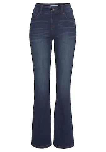 H.I.S Bootcut-Jeans »High-Waist«, Nachhaltige, wassersparende Produktion durch OZON WASH kaufen