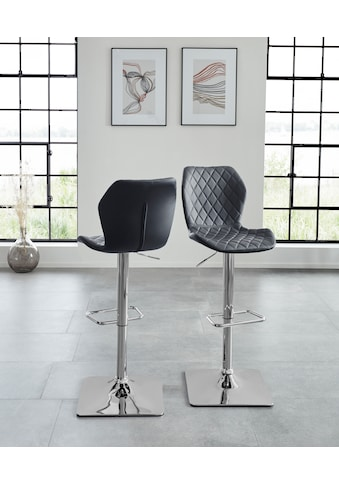 Duo Collection Barhocker »Barhocker Alcona«, 2er-Set, 360°drehbar, stufenlos... kaufen