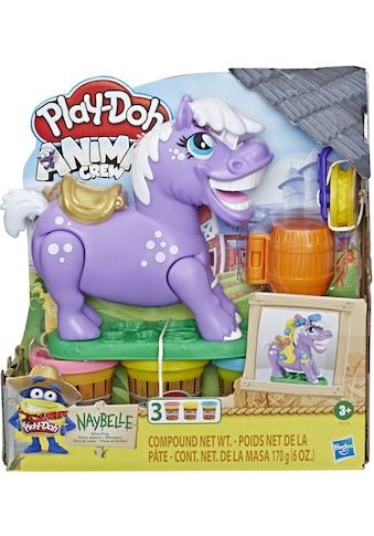 Hasbro Knete »Play-Doh Animal Crew, Naybelle Showpony« kaufen