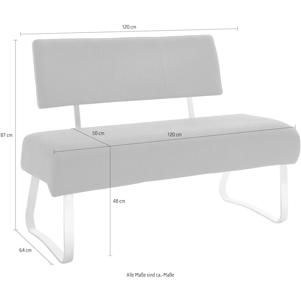 MCA furniture Polsterbank »Foshan«, (1 St.), Aqua Resistant Bezug, belastbar bis max. 200 kg