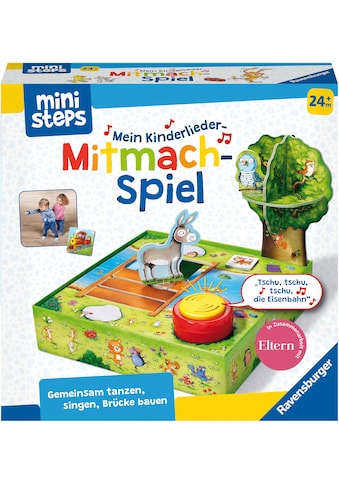 """Ravensburger Spiel, """"ministeps® Kinderlieder - Mitmachspiel"""" kaufen"""
