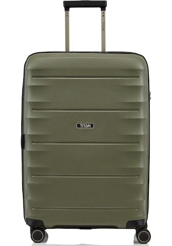 TITAN® Hartschalen-Trolley »Highlight, 68 cm«, 4 Rollen kaufen