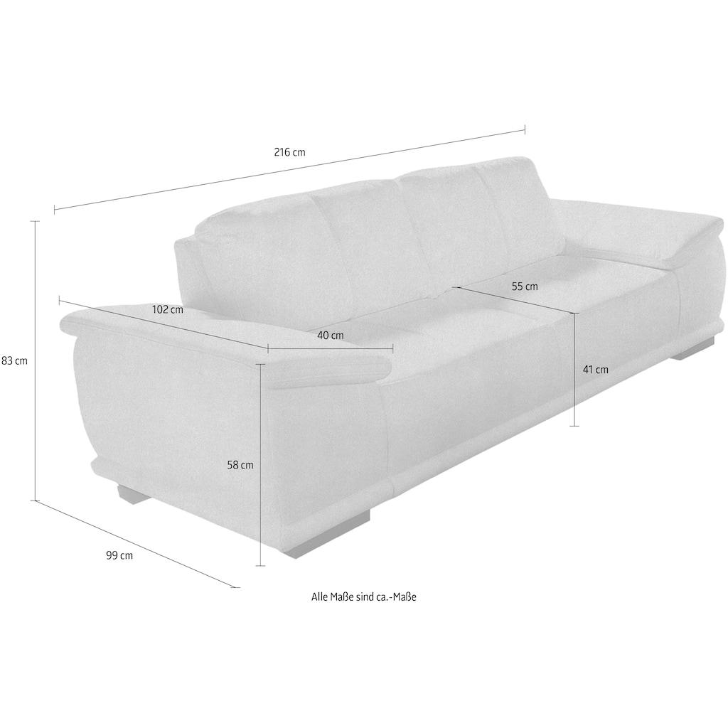 sit&more 3-Sitzer, mit extrabreiten Armlehnen
