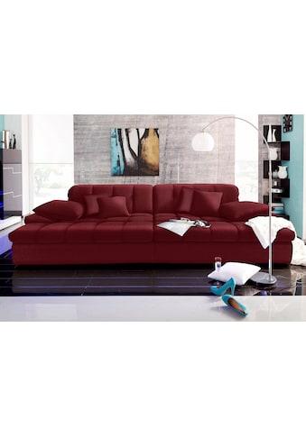 Nova Via Big-Sofa, wahlweise mit Kaltschaum (140kg Belastung/Sitz) und Kopfteilverstellung kaufen
