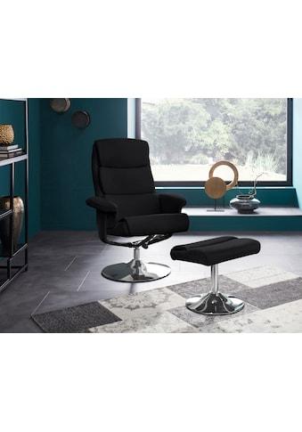Places of Style Relaxsessel »Boston«, inklusive Hocker, mit vielen Funktionen, in zwei Farbvarianten erhältlich kaufen