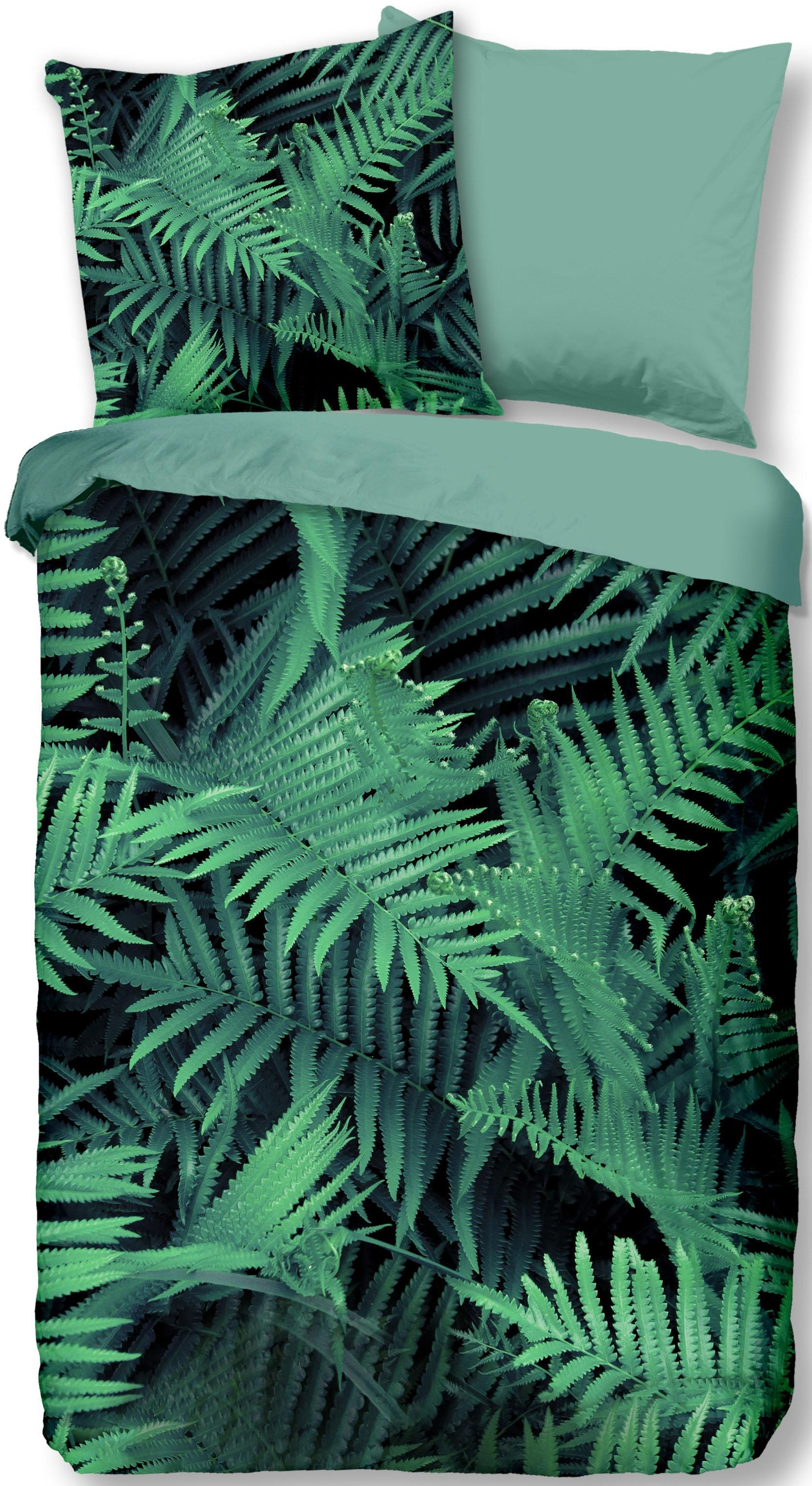 wendebettw sche ferns good morning online bei otto. Black Bedroom Furniture Sets. Home Design Ideas
