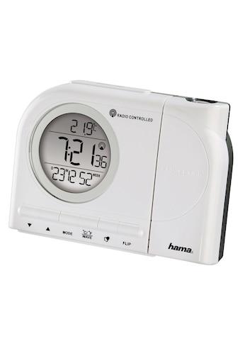 Hama Projektionswecker Funkwecker Wecker, Uhrzeit, Temperatur kaufen