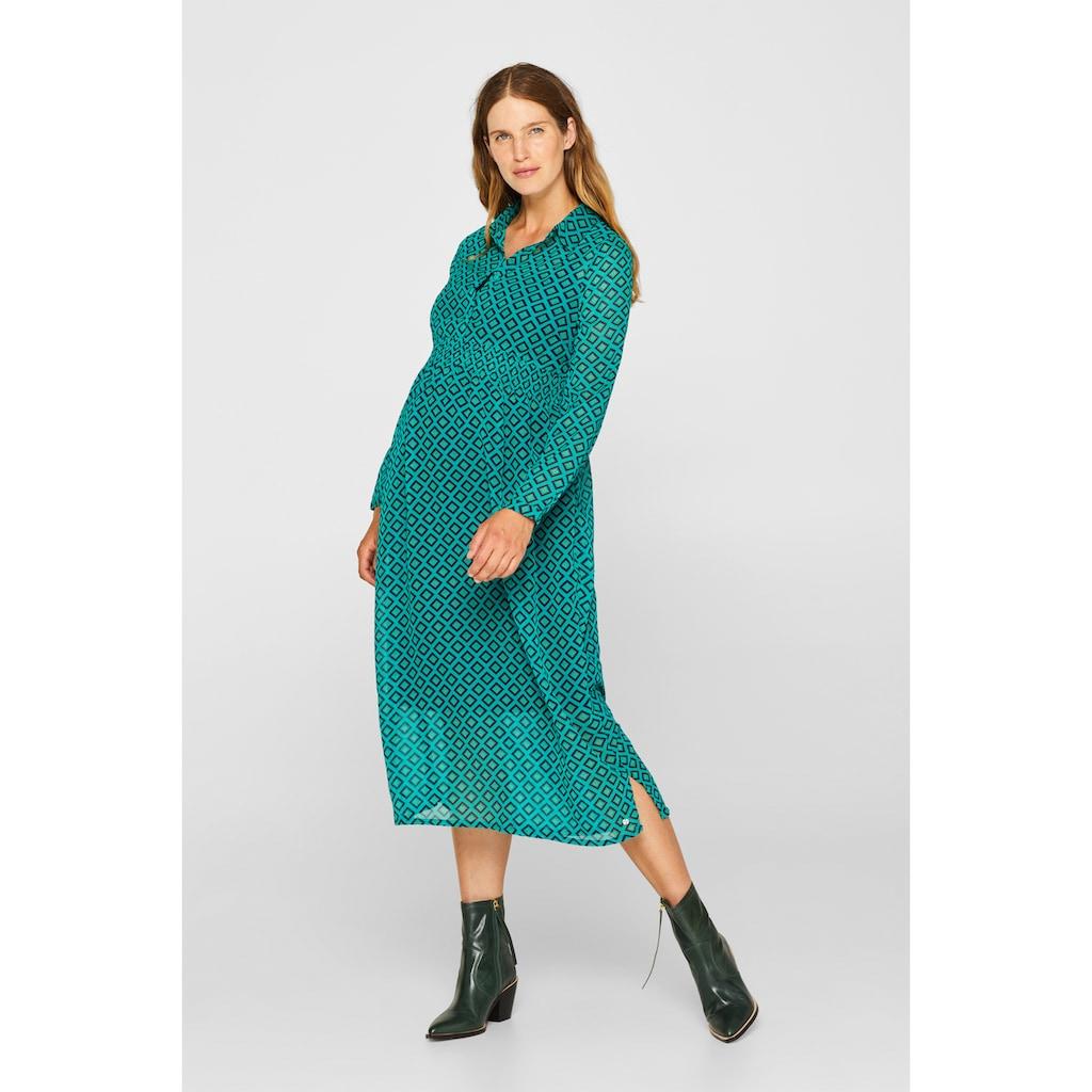 ESPRIT maternity Maxi-Stillkleid