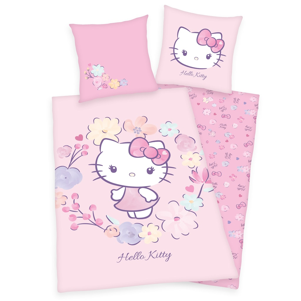 Hello Kitty Wendebettwäsche »Hello Kitty, Renforcé«