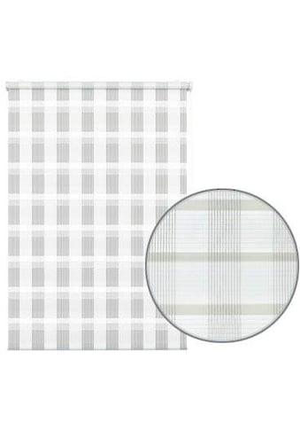 GARDINIA Seitenzugrollo »Mini Doppelrollo Karo«, Lichtschutz, ohne Bohren, freihängend kaufen