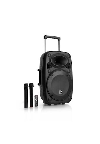 Auna Mobile PA Anlage Bluetooth Lautsprecher Subwoofer Trolley Mikro »PAS4 Streetstar 12« kaufen