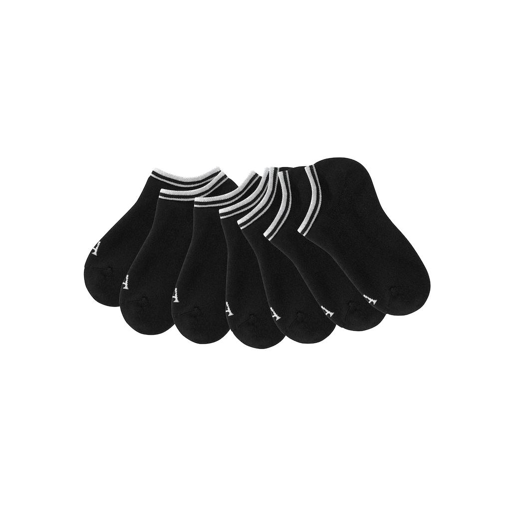 LASCANA ACTIVE Sneakersocken, (7 Paar), mit Vollfrottee