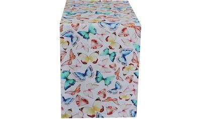 HOSSNER - HOMECOLLECTION Tischläufer »32438 Farfalle« kaufen