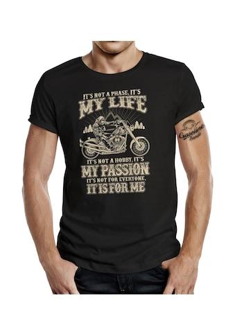 GASOLINE BANDIT® T-Shirt mit coolem Statement-Print kaufen