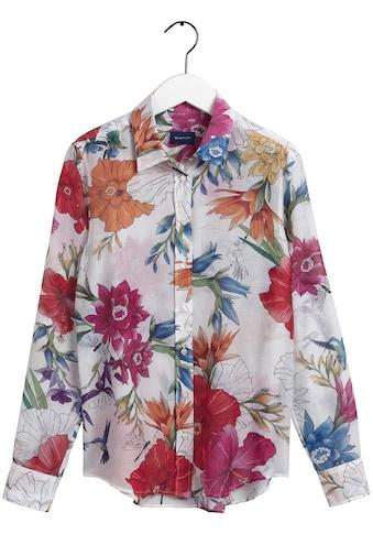 Gant Hemdbluse, mit farbenfrohem Blumenprint kaufen