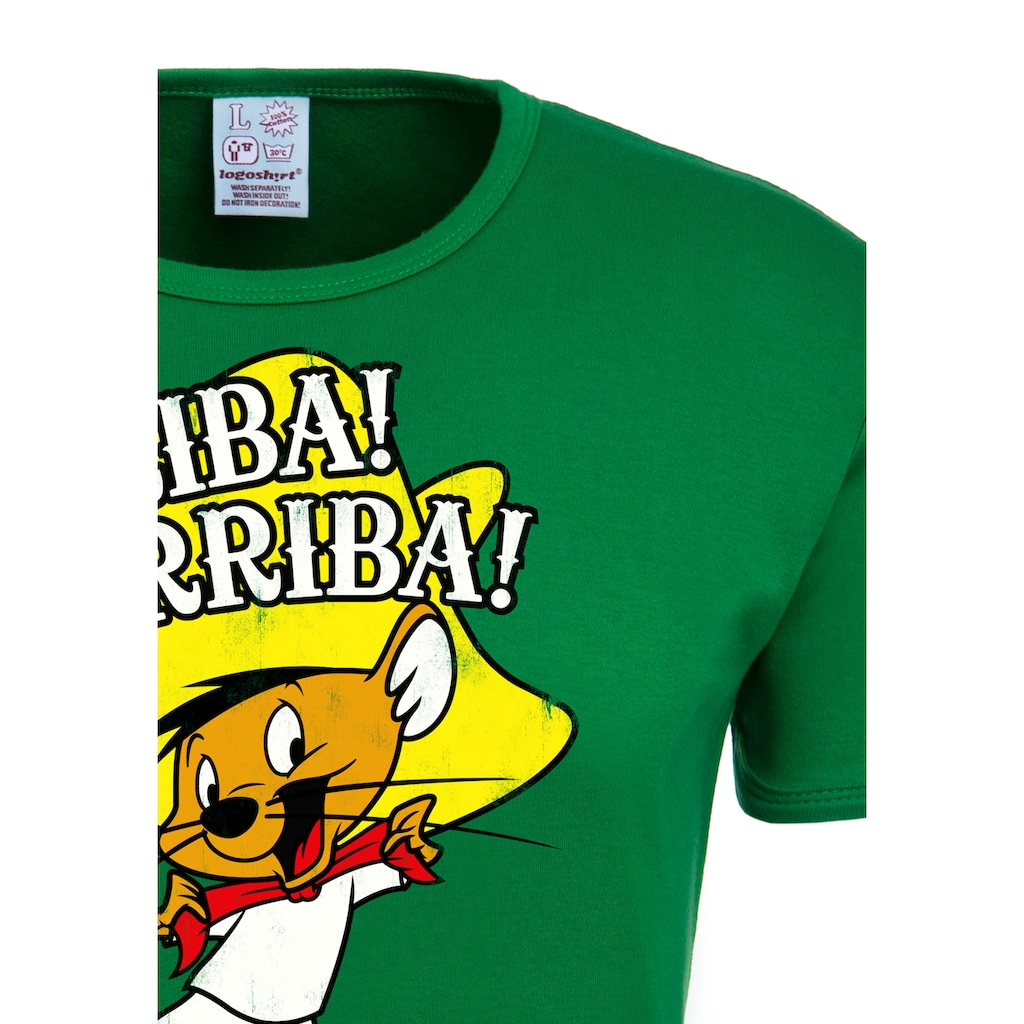 LOGOSHIRT T-Shirt »Looney Tunes – Arriba! Andale!«, mit lizenzierten Originaldesign