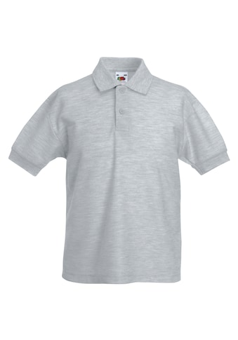 Fruit of the Loom Poloshirt »Kinder Polo Shirt, Kurzarm« kaufen