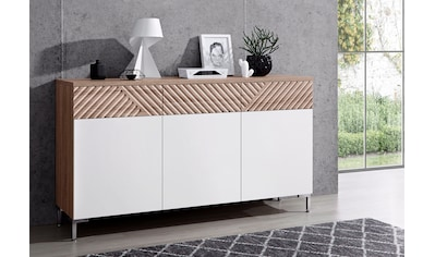 INOSIGN Sideboard »Greta«, mit schönen Fräsungen an den Schubladenfronten, Breite 147 cm kaufen
