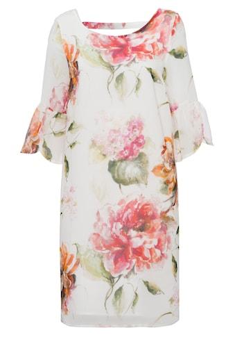 MORE&MORE Printed Chiffon Dress Active kaufen