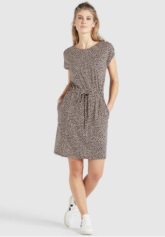 khujo Blusenkleid »SAMMY«, Shirtkleid mit grafischen Allover Druck kaufen
