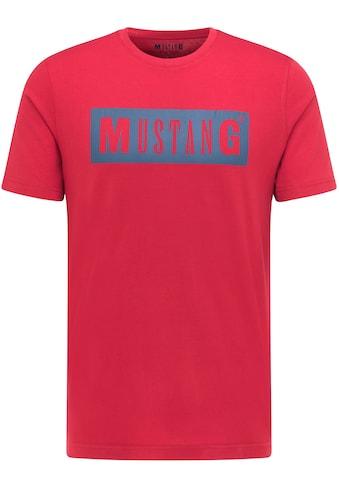 MUSTANG T-Shirt »Alex C LOGO Tee« kaufen