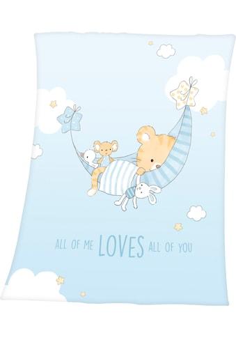 Baby Best Babydecke »Little Tiger«, mit niedlichem Tiger-Motiv kaufen