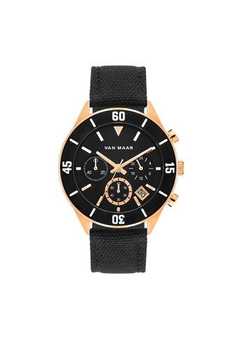 Van Maar Chronograph »VM015«, (1 tlg.), Armband aus Nylon/Echtleder kaufen
