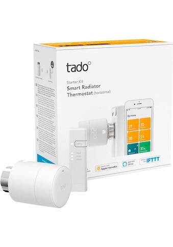 Tado Smartes Heizkörperthermostat »Smartes Heizkörperthermostat Smart Heizungsthermostat - Starter Kit V3+ inkl 1 Bridge« kaufen