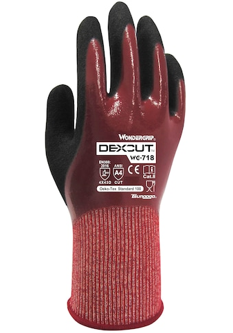 Wonder Grip Nitril-Handschuhe »Dreifache Nitril Beschichtung (M/08)«, Arbeitshandschuh... kaufen