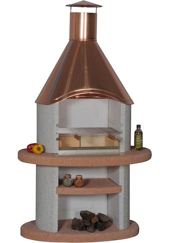 WELLFIRE Grillkamin »Duna Colora«, BxTxH: 110x73x192 cm kaufen