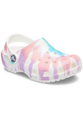 Crocs Clog »Classic Tie Dye Graphic Clog«, im angesagtem Batik Look kaufen