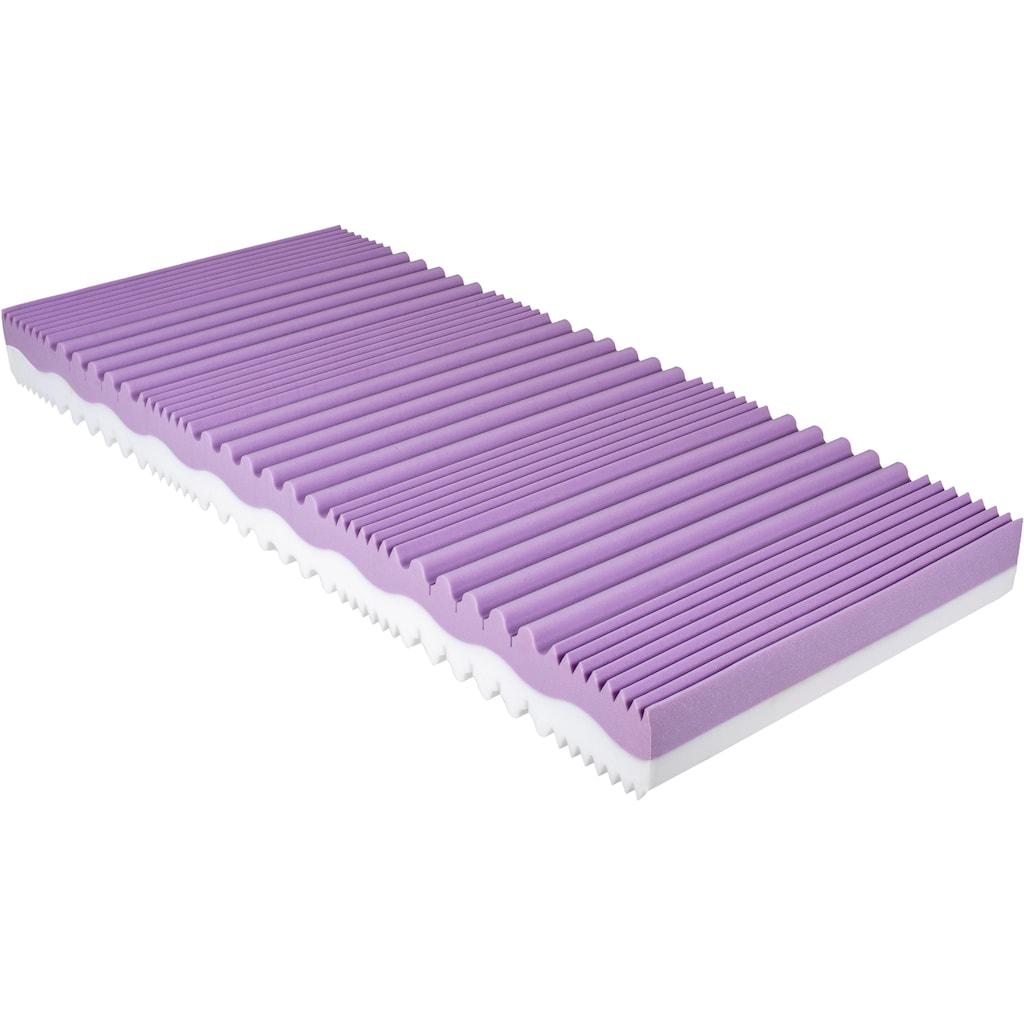 BeCo EXCLUSIV Komfortschaummatratze »Duo Comfort 20«, (1 St.), Die flexible Matratze mit 2 Härten