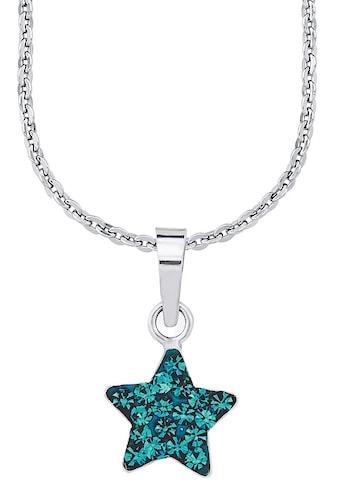 Amor Kette mit Anhänger »Stern, 9294541«, mit Kristallglassteinen kaufen