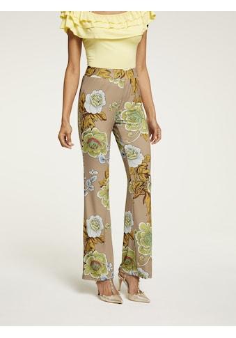 ASHLEY BROOKE by Heine Jerseyhose, im floralen Design kaufen