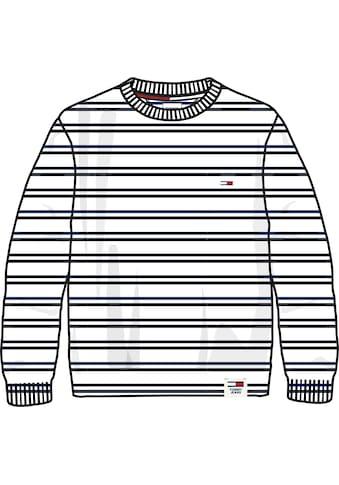 Tommy Jeans Strickpullover »TJM MULTISTRIPE COTTON SWEATER« kaufen