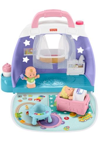 Fisher-Price® Puppenhaus »Little People - Baby Kinderzimmer«, zum Mitnehmen kaufen