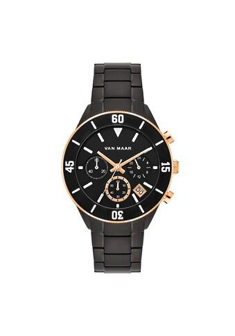 Van Maar Chronograph »VM020«, (1 tlg.), Armband aus Edelstahl kaufen