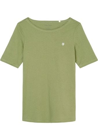 Marc O'Polo T-Shirt, mit dezentem Logo-Detail vorn kaufen