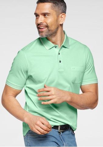 OLYMP Poloshirt »CASUAL«, mit elastischen Ärmelabschlüssen kaufen